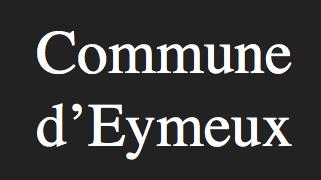 commune d'eymeux