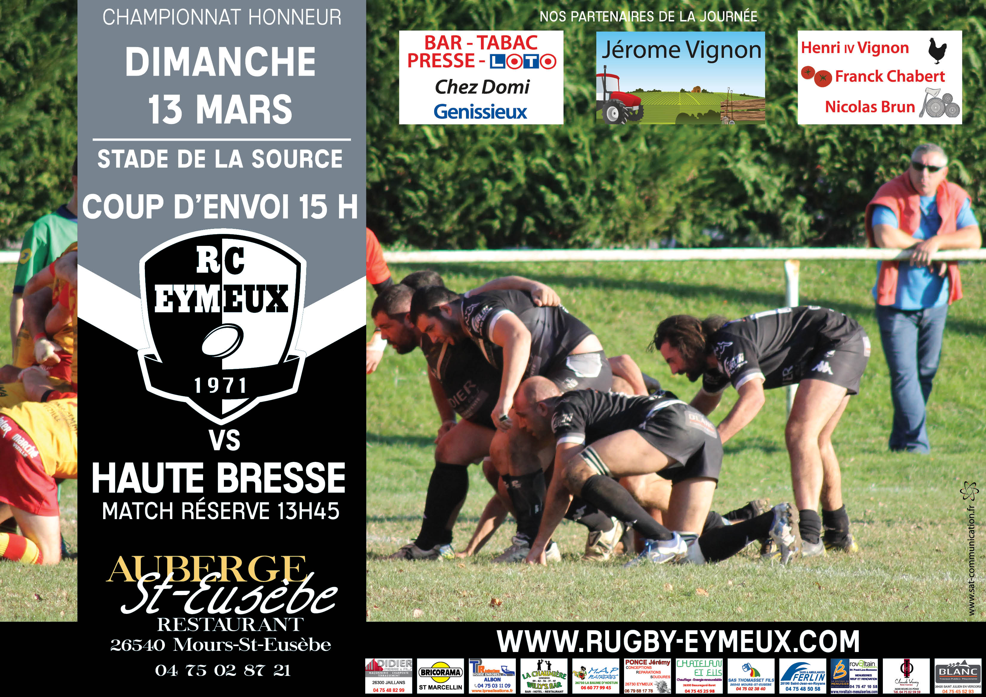 eymeux haute bresse rugby eymeux